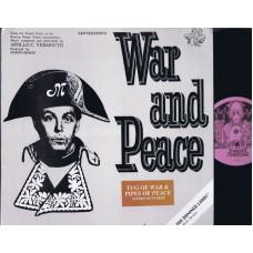 PAUL MCCARTNEY War and Peace (R&G) USA Demo LP