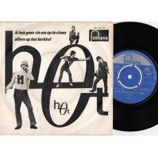 HET Ik Heb Geen Zin Om Op Te Staan / Alleen Op het Kerkhof (Fontana 278115) Holland 1966 PS 45