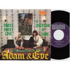 ADAM & EVE Sweet Sweet Love (Bellaphon BL 1046) Germany 1967 PS 45