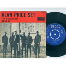 ALAN PRICE SET I Put A Spell On You Iechyd-Da (Decca 12367) Holland PS 45