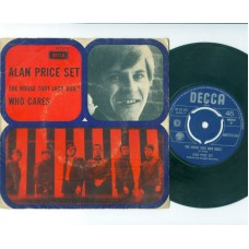 ALAN PRICE SET The House That Jack Built / Who Cares (Decca 15076) Holland PS 45