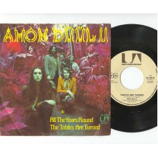 AMON DUUL II All The Years Round (United Artists) Germany PS 45