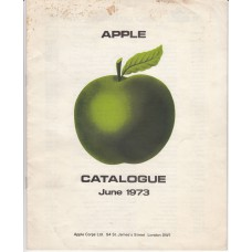 APPLE RECORDS (June 1973) UK / 12 pages / Catalogue