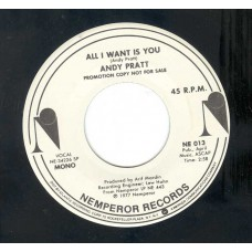 ANDY PRATT All I Want Is You (Nemperor) USA Stereo/Mono Promo 45