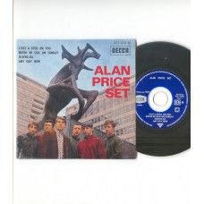 ALAN PRICE SET I Put A Spell On You / Never Be Sick On Sunday / Iechyd-Da / Any Day Now (Decca 457109)  French EP CD