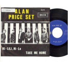 ALAN PRICE SET Hi-Lili, Hi-Lo / Take Me Home (Decca 26074) Belgium PS 45