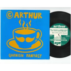 ARTHUR Garnish Fantasy / Never Coming Down Again (Target TGT 011) UK 1993 PS 45