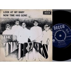 TIME BREAKERS Look At My Baby (Decca) Holland 1967 PS 45