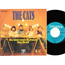 CATS Du Bist Mein Zuhaus / Der Brief (EMI 24661) Germany 1972 PS 45