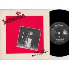 BARRACUDAS Inside Mind (Flicknife) UK 1982 PS 45