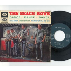 BEACH BOYS Dance Dance Dance +3 (Capitol) French PS EP