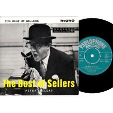 PETER SELLERS The Best Of (Parlophone GEP 8770) UK 1958 PS EP