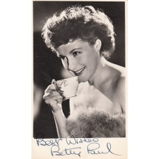 BETTY PAUL Photo (Autographed)