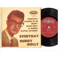 BUDDY HOLLY Everyday +3 (Coral) New Zealand PS EP