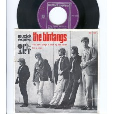 BINTANGS You Can't Judge A Book By The Cover / I'm A Man (Muziek Express Op Art ME 1002)  Holland 1966 PS 45