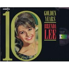 BRENDA LEE 10 Golden Years (Decca) USA 1966 Mono LP