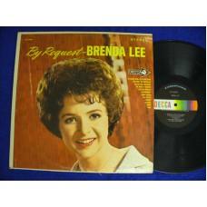 BRENDA LEE By Request (Decca) USA 1964 LP