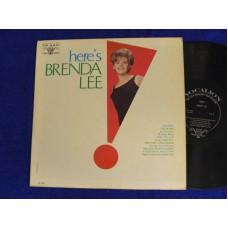 BRENDA LEE Here's Brenda Lee (Vocalion) USA 1967 MONO LP