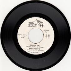 BRUCE FORSYTH Real Live Girl (Blue Cat) USA Promo 45