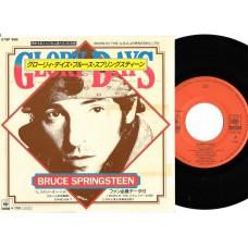 BRUCE SPRINGSTEEN Glory Days (CBS) Japan PS 45