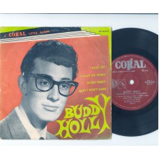 BUDDY HOLLY Rave On +3 (Coral) Australia PS EP