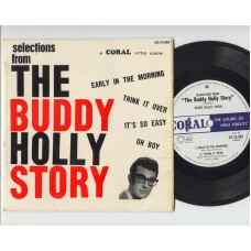 BUDDY HOLLY AND THE CRICKETS Story EP (Coral) UK PS EP