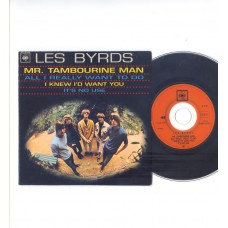 BYRDS Mr.Tambourine Man +3 (CBS) French EP CD