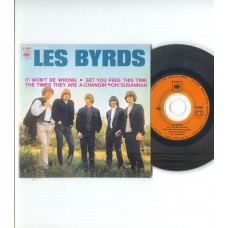 BYRDS It Won't Be Wrong +3 (CBS) French EP CD