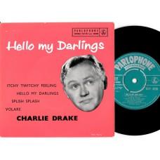 CHARLIE DRAKE Hello My Darlings EP (Parlophone) UK 1958 EP