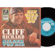 CLIFF RICHARD Ein Girl Wie Du (Columbia) German PS 45