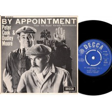 PETER COOK DUDLEY MOORE By Appointment EP (Decca) UK PS EP