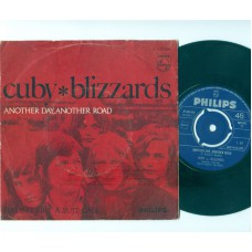 CUBY AND THE BLIZZARDS Another Day Another Road / Feeling Like A Suit-Case (Philips 333856) Holland 1967 PS 45