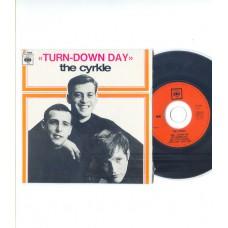 CYRKLE Turn Down Day +3 (CBS 5994) French EP CD