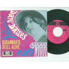 DAVE DAVIES Susannah's Still Alive (PYE) Germany PS 45 (Kinks)
