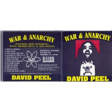 DAVID PEEL War and Anarchy (Noiseville Records 42) USA 1994 (CD)