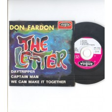 DON FARDON - The Letter +3 (Vogue) French EP CD