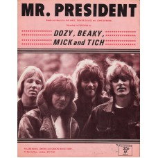 DBM AND TICH Mr.President (Sheet Music) UK