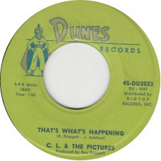 C.L. & THE PICTURES I'm Sorry / That's What Happening (DUNES 2023) USA 1963 45