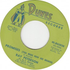 RAY PETERSON Sweet Little Kathy / Promises (DUNES 2030) USA 1963 45