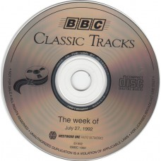 ELECTRIC LIGHT ORCHESTRA / ELO Classic Tracks week 07/27/92 (BBC) UK 1992 CD