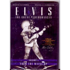 ELVIS PRESLEY The Great Performances Volume 3: From The Wast Up DVD
