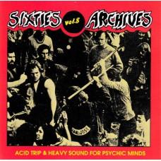 Various ACID TRIP & HEAVY SOUND FOR PSYCHIC MINDS (EVA) France CD