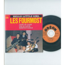 FOURMOST Hello Little Girl +3 (Odeon) French EP CD
