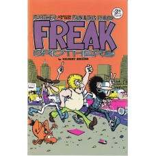 FABULOUS FURRY FREAK BROTHERS (Rip Off Press Inc.) Nr.01