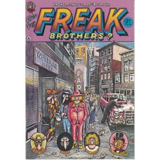 FABULOUS FURRY FREAK BROTHERS (Rip Off Press Inc.) Nr.03