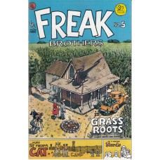 FABULOUS FURRY FREAK BROTHERS (Rip Off Press Inc.) Nr.05