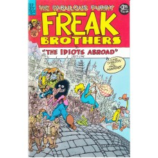 FABULOUS FURRY FREAK BROTHERS (Rip Off Press Inc.) Nr.08