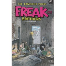 FABULOUS FURRY FREAK BROTHERS (Rip Off Press Inc.) Nr.12
