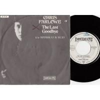 CHRIS FARLOWE The Last Goodbye / Paperman Fly In The Sky (Immediate 23796) Germany PS 45