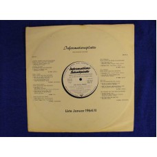 INFORMATIONS-SCHALLPLATTE 01 1964/II